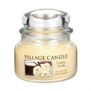 Village Candle Creamy Vanilla 11oz Small Candle Jar